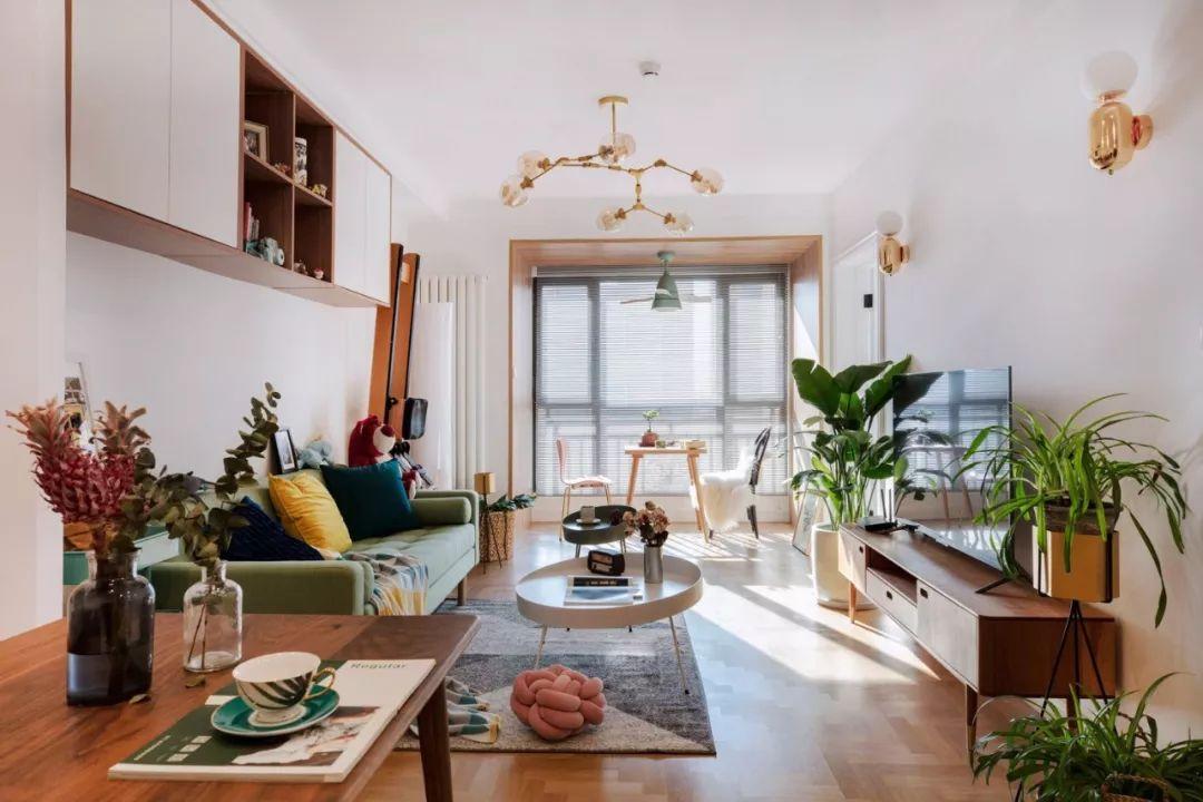 临沂装修现在流行把阳台包进客厅,空间立刻变大10平米
